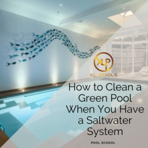 How to Clean a Green Pool When You Have a Saltwater System